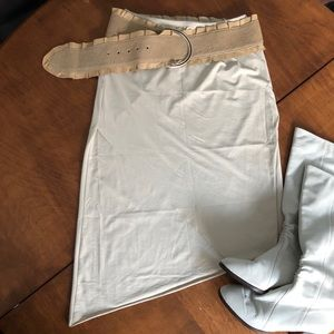 Kensie Crossover Skirt
